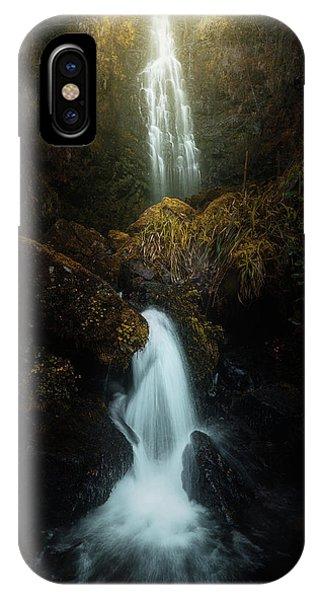 Waterfall iPhone Case - Boscuro 2. by Juan Pablo De