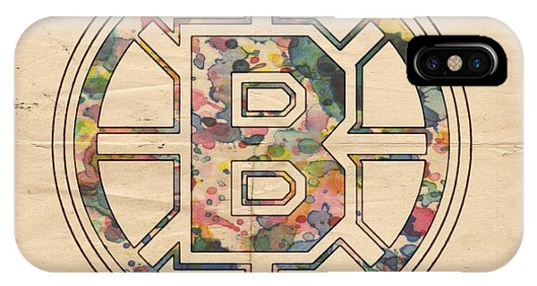 Boston Bruins Poster Art IPhone Case