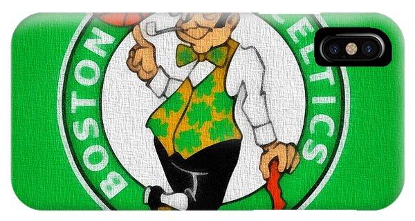 Boston Celtics Canvas IPhone Case