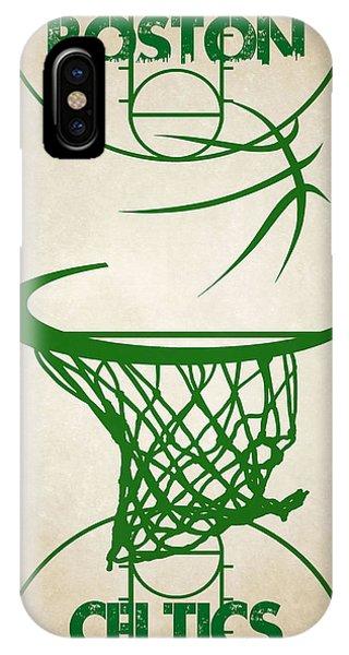 Celtics iPhone Case - Boston Celtics Court by Joe Hamilton