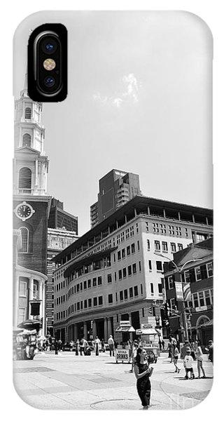 Boston Common Scene IPhone Case