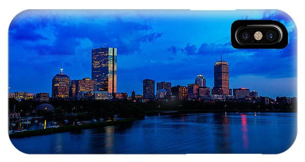 John Hancock Center iPhone Case - Boston Evening by Rick Berk