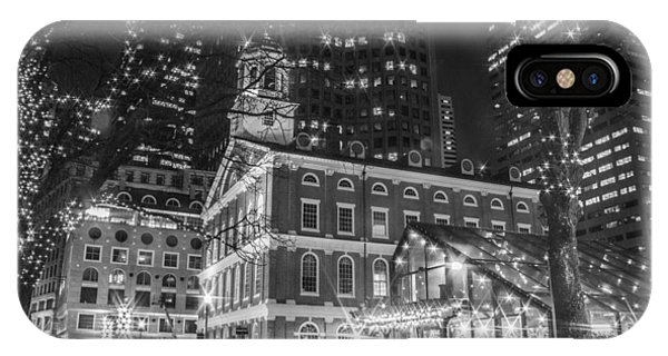 Boston Faneuil Hall  IPhone Case