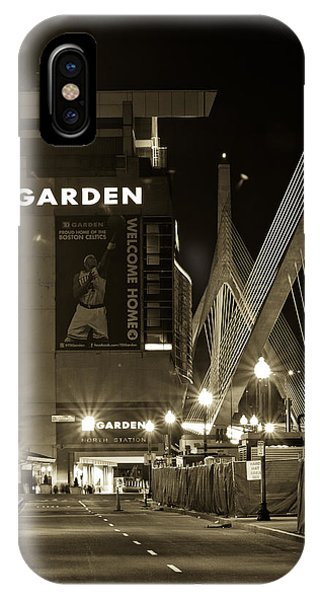 Boston Garder And Side Street IPhone Case
