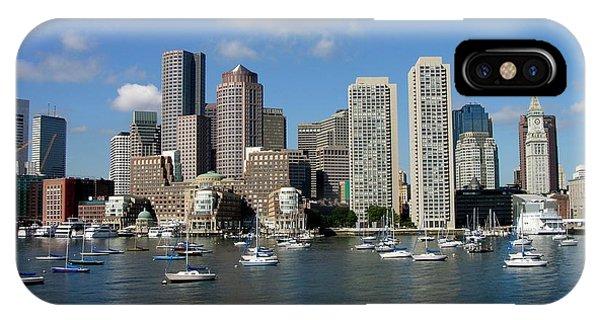 Boston Habor Skyline IPhone Case