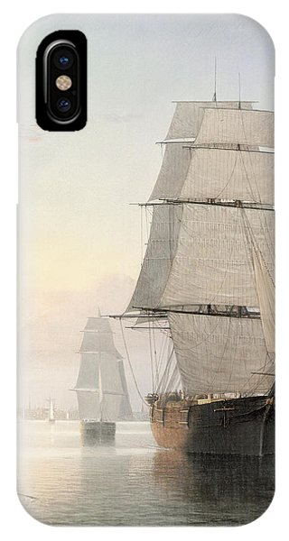 Boston Harbor At Sunset Detail 1 IPhone Case