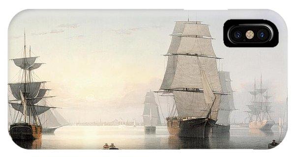 Boston Harbor At Sunset IPhone Case