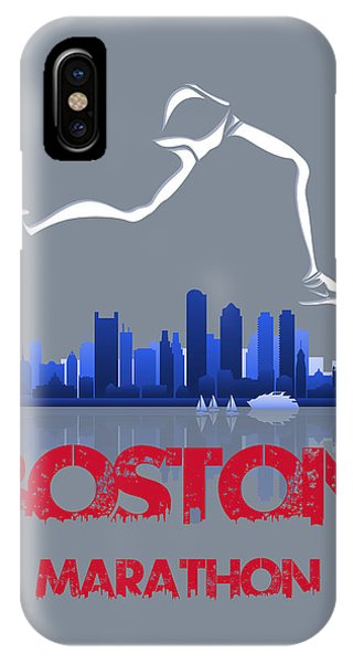 Boston Marathon3 IPhone Case