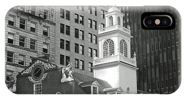 Boston Old State House IPhone Case