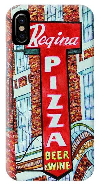 Boston Pizzeria  IPhone Case