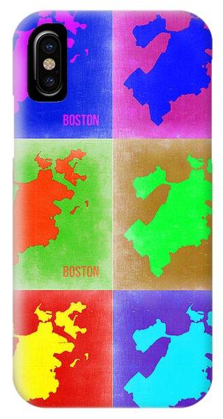 Boston Pop Art Map 3 IPhone Case