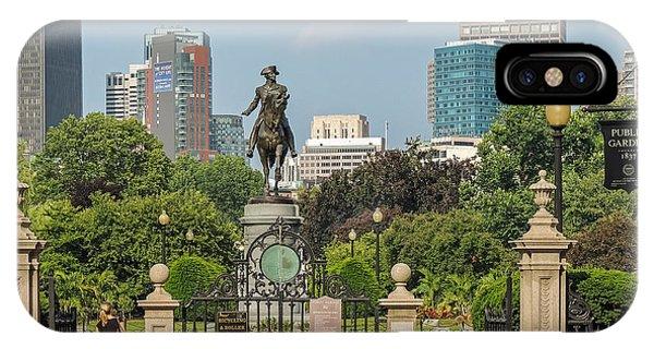 Boston Public Garden IPhone Case