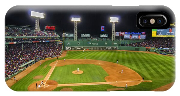 Boston Red Sox And New York Yankees At Fenway Park - Art IPhone Case