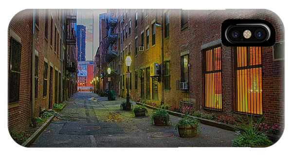 Boston Street IPhone Case