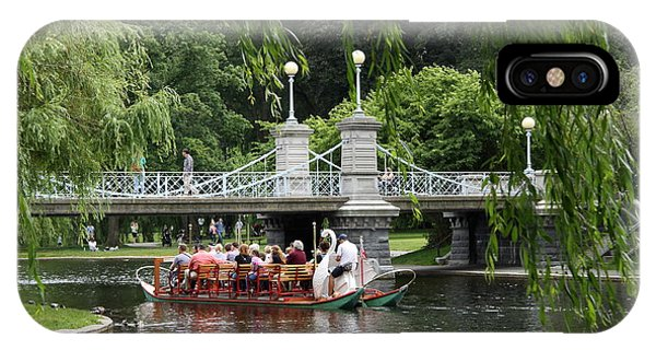 Boston Swan Boat IPhone Case