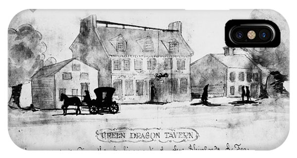 Boston: Tavern, 1773 IPhone Case