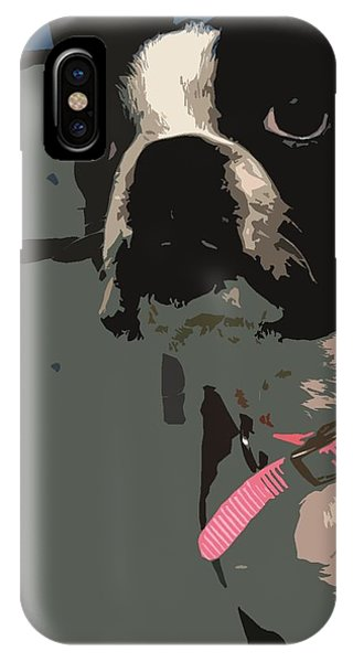 Boston Terrier Art01 IPhone Case