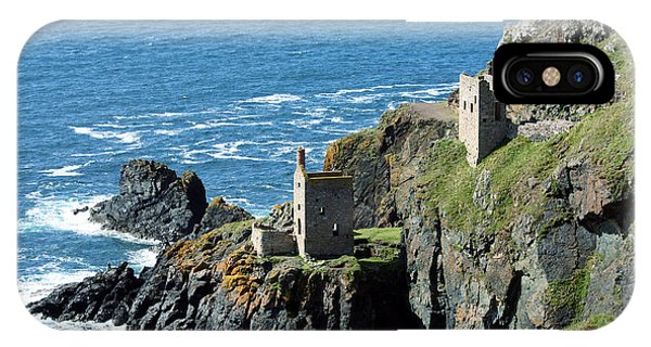 Botallack Crown Engine Houses Cornwall IPhone Case