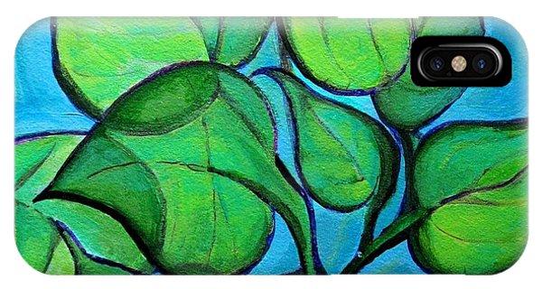 Botanical Leaves IPhone Case