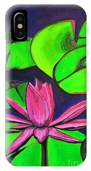 Botanical Lotus 1 IPhone Case