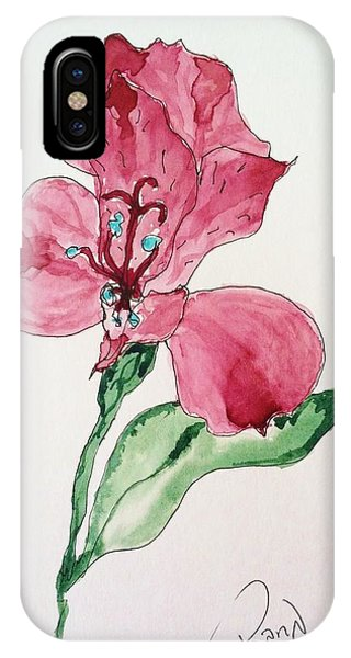 Botanical Work IPhone Case
