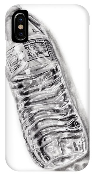 Hyper Realism iPhone Case - Bottled Water by Dale Jackson