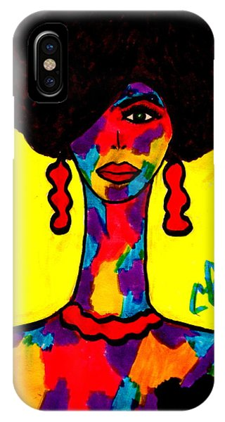 Bottlenecked Diva IPhone Case