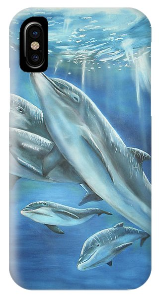 Bottlenose Dolphins IPhone Case