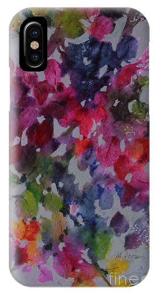 IPhone Case featuring the painting Bougainvillea by Michelle Abrams