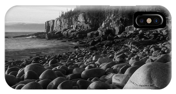 Boulder Beach Bw IPhone Case