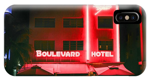 Boulevard Hotel IPhone Case