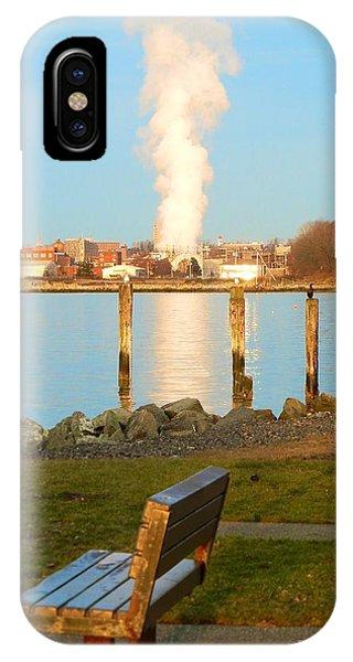 Boulevard's Golden Pillar IPhone Case