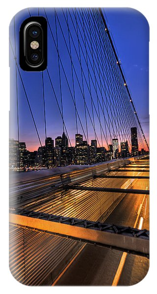 City iPhone Case - Bound For Greatness by Evelina Kremsdorf