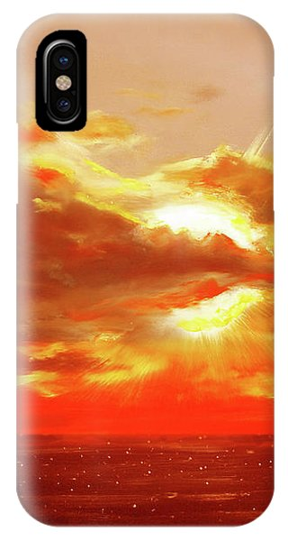 Bound Of Glory - Red Sunset  IPhone Case
