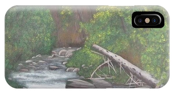 Boundary Creek  Bc IPhone Case
