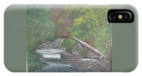 Boundary Creek  Bc IPhone Case