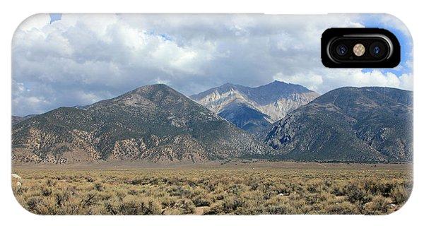 Sierra Nevada iPhone Case - Boundary Peak  by Johnny Adolphson