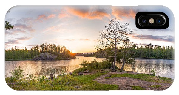 Lake Superior iPhone Case - Boundary Waters Camp by Christopher Broste
