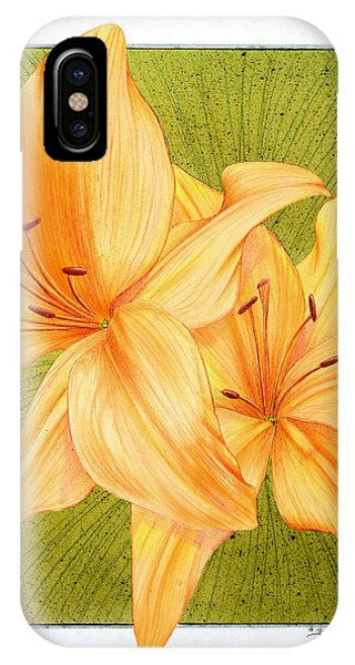 Bounding Bloom IPhone Case