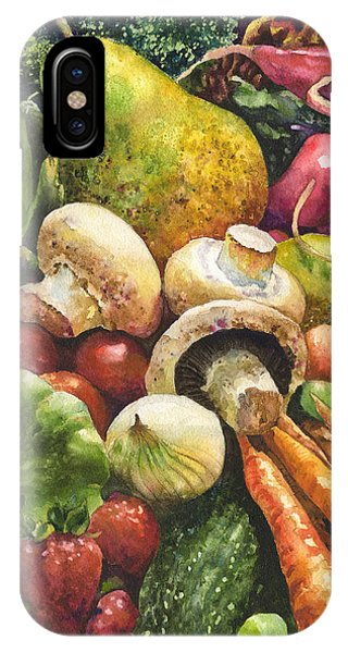 Pear iPhone Case - Bountiful by Anne Gifford