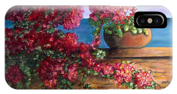 Bountiful Bougainvillea IPhone Case