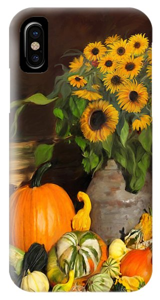 Bountiful Harvest - Floral Painting IPhone Case