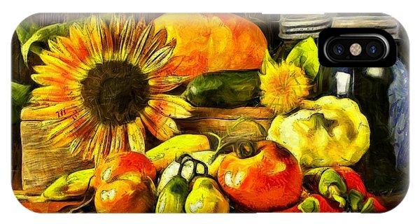 Bountiful Harvest Van Gogh Style IPhone Case