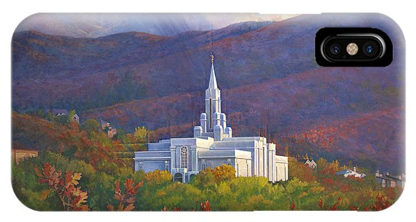 Bountiful Temple In The Mountains IPhone Case