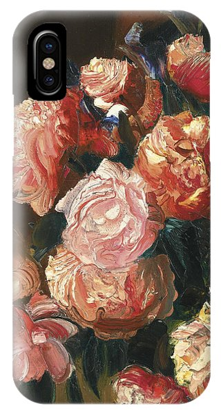 Russian Impressionism iPhone Case - Bouquet Of Flowers by Celestial Images