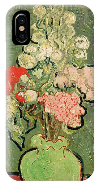 Elegant iPhone Case - Bouquet Of Flowers by Vincent van Gogh