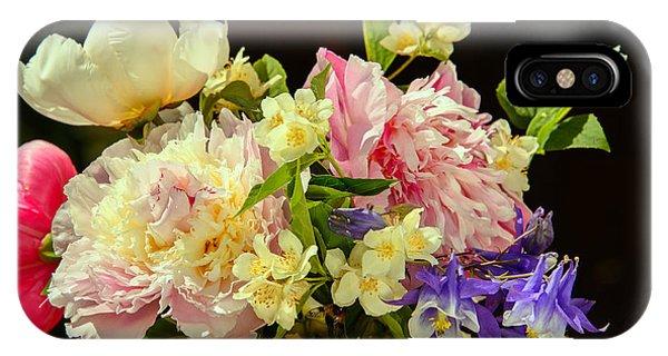 Bouquet Of Summer Flowers IPhone Case