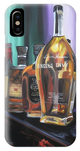 Bourbon Bar Oil Painting IPhone Case
