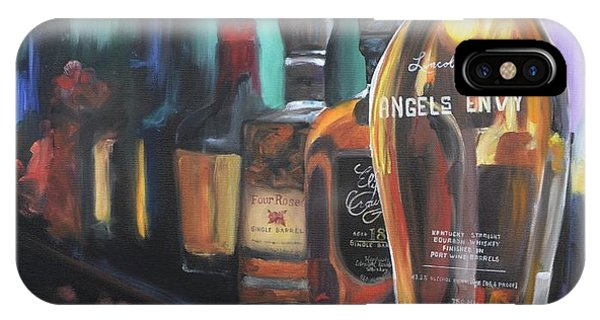 Bourbon Bar Oil Painting IPhone Case