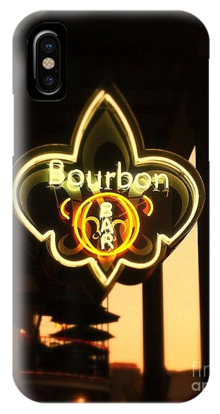 Bourbon Street Bar New Orleans IPhone Case